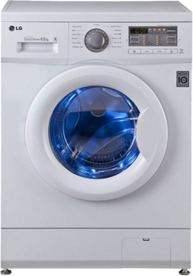 LG FH0B8NDL2 Fully-automatic Front-loading Washing Machine (Blue and White)