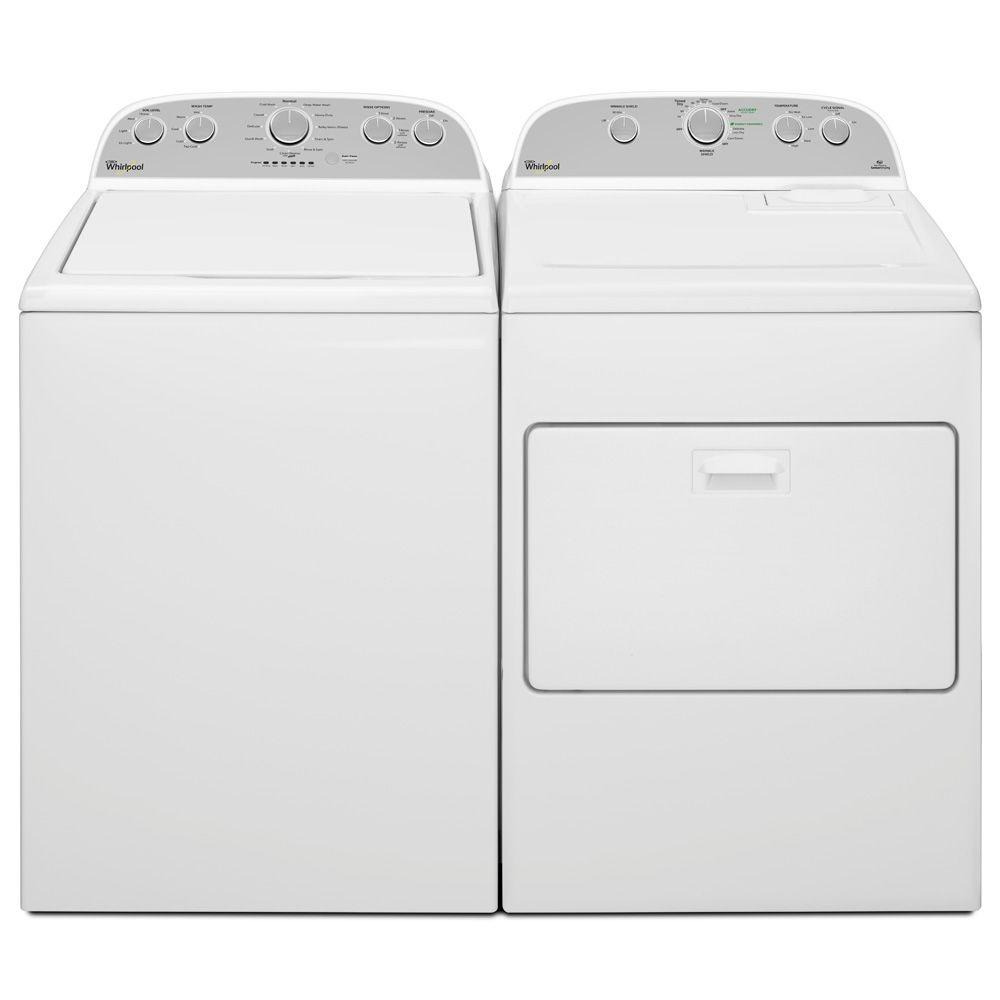 Whirlpool Top-Loading Washer – White