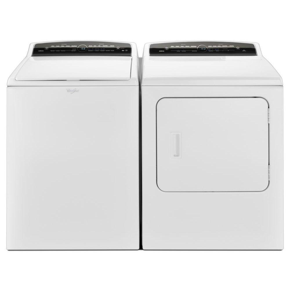 Whirlpool WTW7000DW 4.8 cu. ft. Cabrio HE Top Load Washer