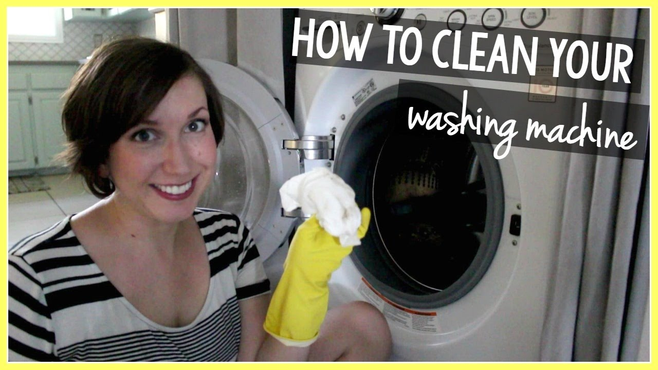 How To Clean Your Front-Loading And Top-Loading Washing Machines